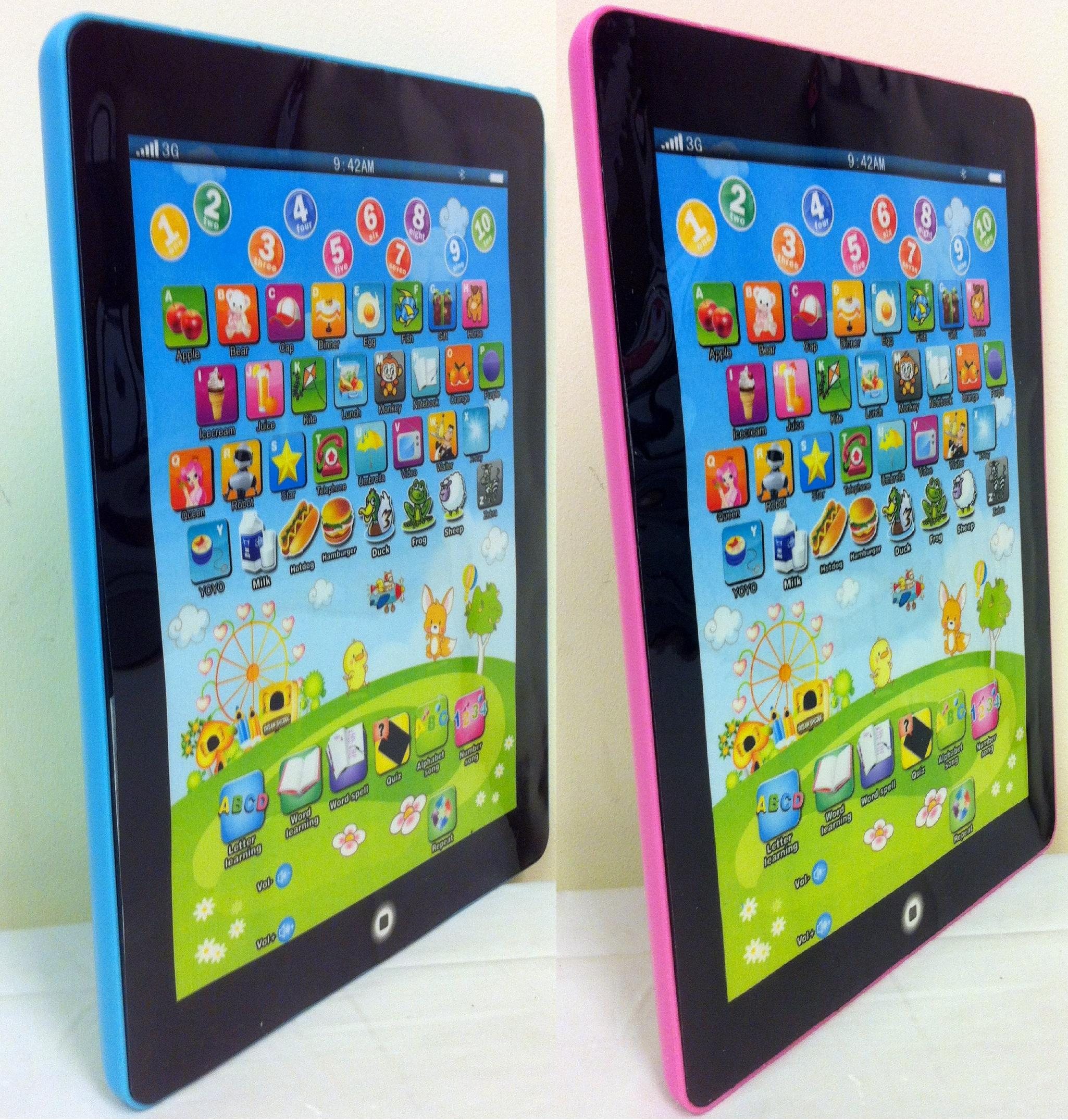 Worksheet Learning Tablet kids alphabet learning tablet colour choice play read amp thumbnail 1