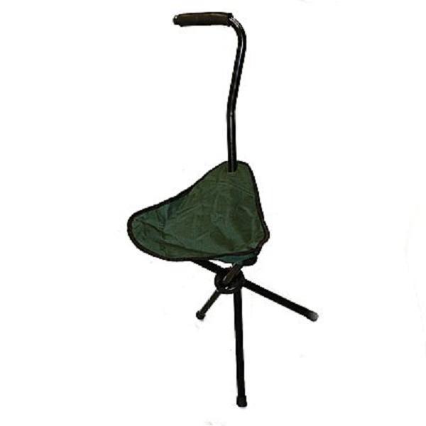 Walking Stick Amp Folding Chair Ideal Fishing Stool Tripod
