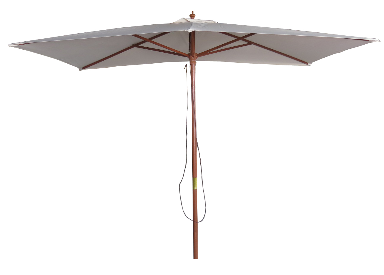 garden parasol 3m x 2m rectangular beige canopy heavy. Black Bedroom Furniture Sets. Home Design Ideas