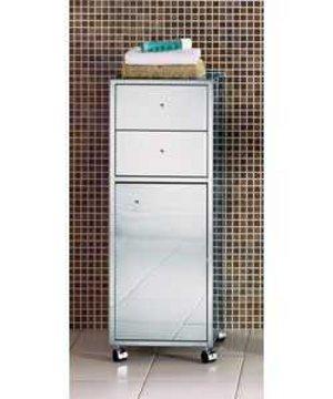 item details stainless steel bathroom floor unit cabinet 2 drawers