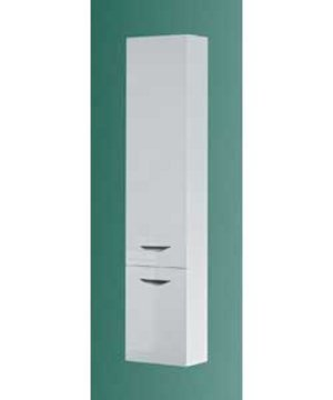 item details copenhagen high white gloss bathroom unit wall cabinet