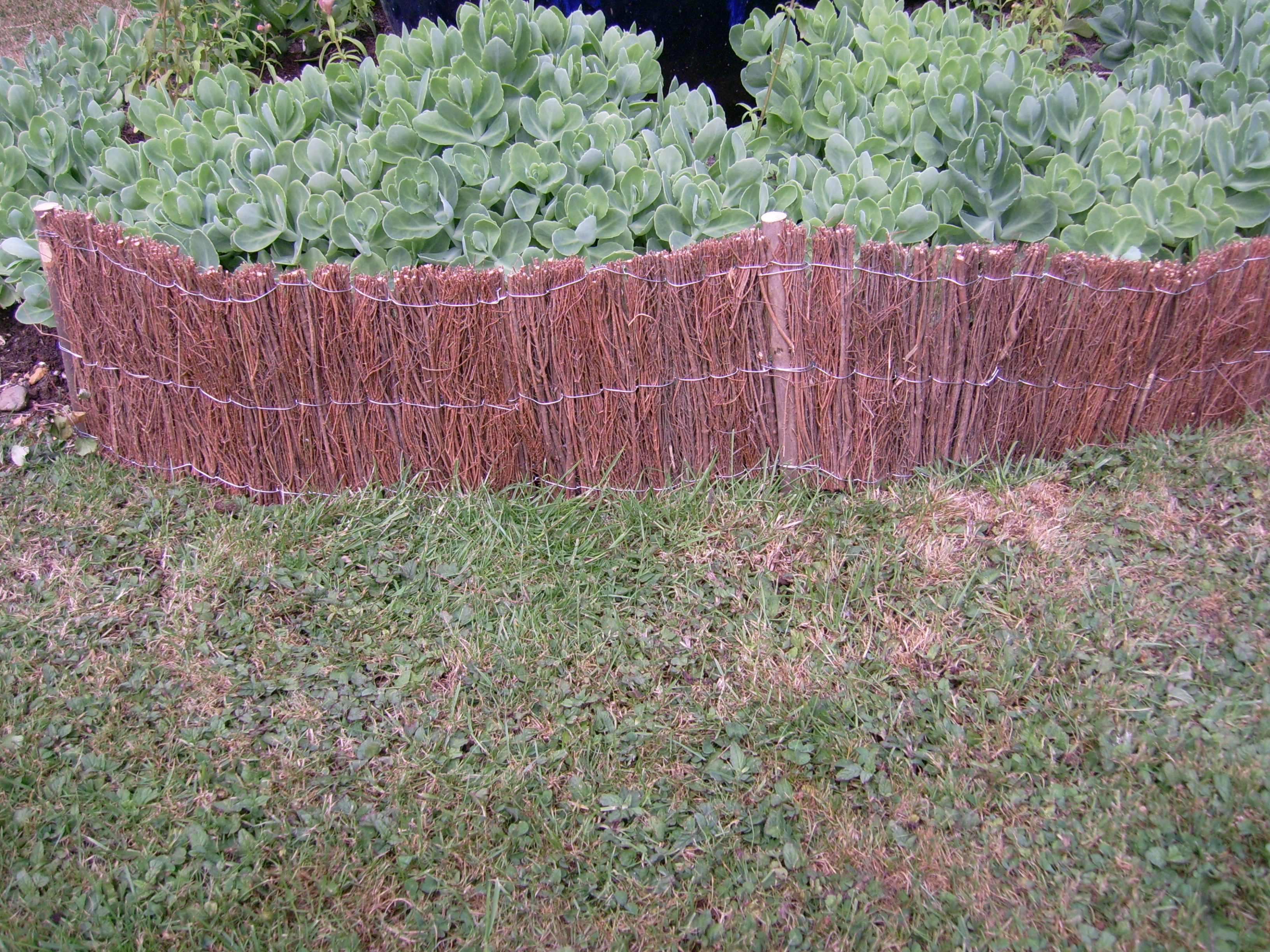 Brushwood Garden Feature Edging Flower Bed Fencing