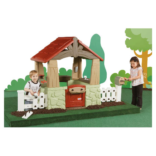 Tikes House And Garden Playhouse Funbox Rental Tikes