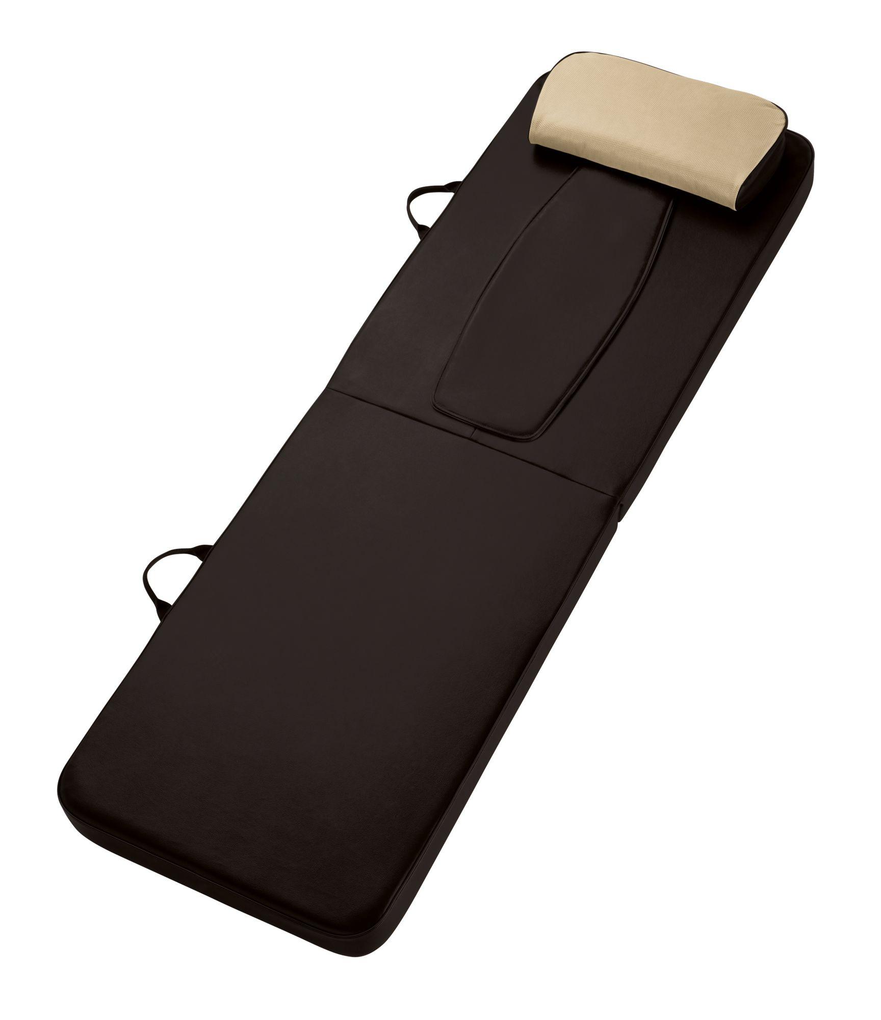 Homedics rmm 300h shiatsu back body massager mat new ebay for Full body shiatsu massage mat
