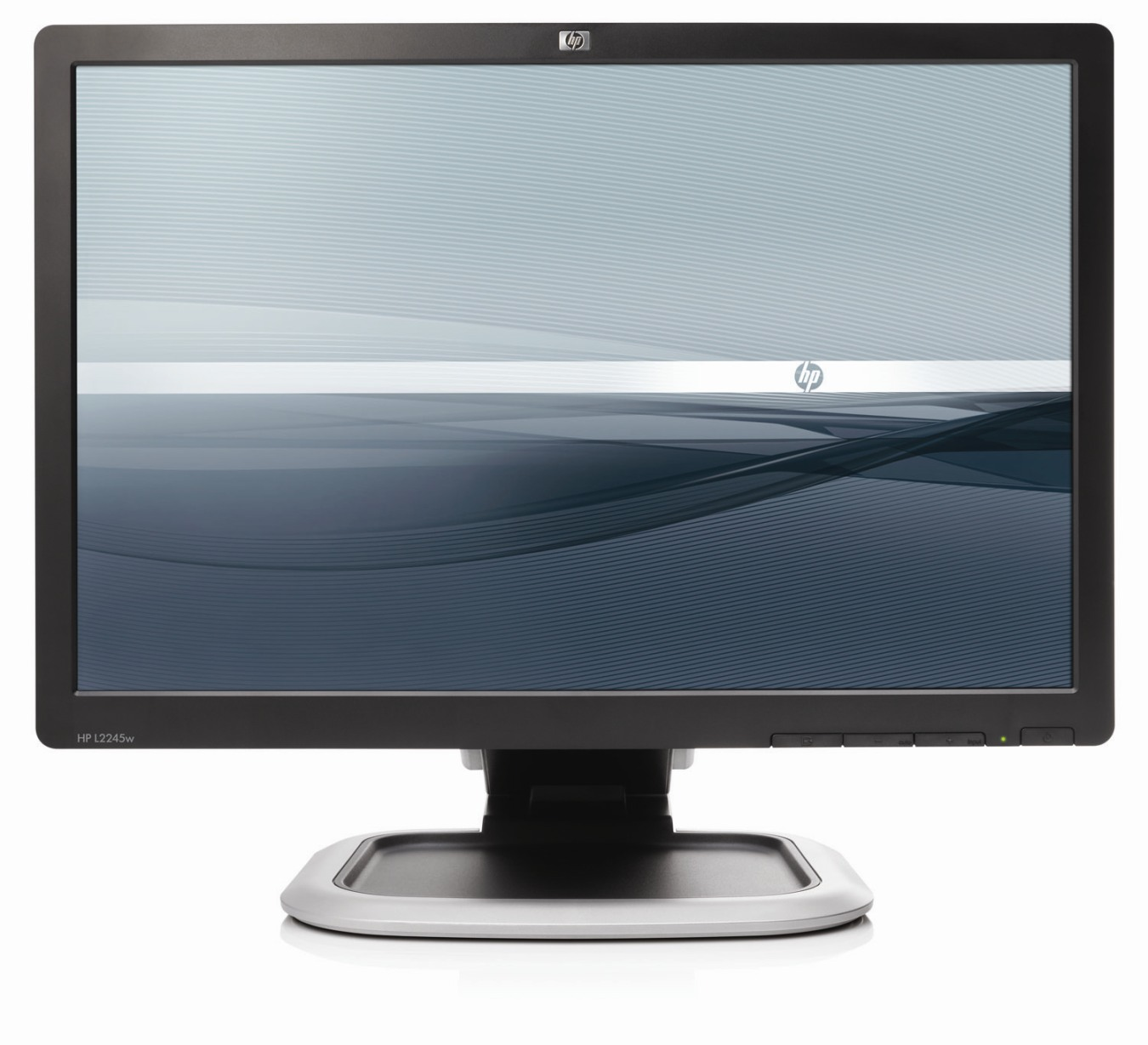 "HP L2245 22"" LCD WIDESCREEN MONITOR DVI-D VGA USB PC ..."