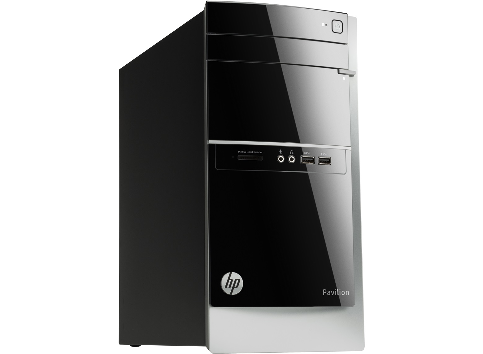 hp pavilion 500 515na tower pc computer qc amd 3 4ghz 8gb 2tb wifi windows 8 1 ebay. Black Bedroom Furniture Sets. Home Design Ideas