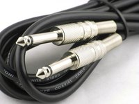 View Item Jack to jack cable for guitar, bass and other instruments  3m