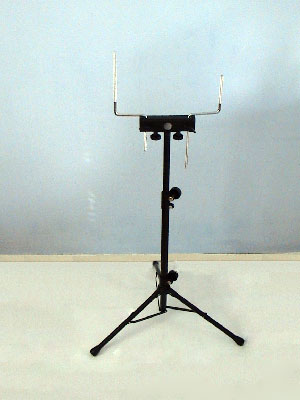 DRUM KIT PERCUSSION RACK / STAND cowbell tambourine