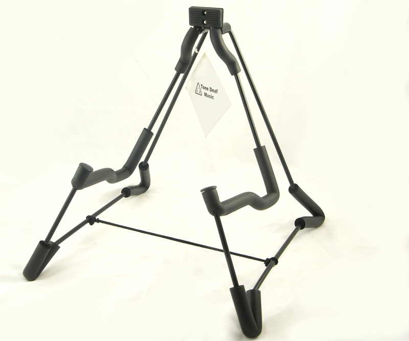 A-FRAME GUITAR STAND folding acoustic electric bass NEW
