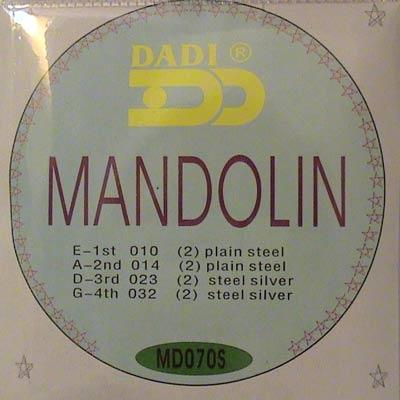 STRINGS MANDOLINO - Argento ferita mandelin NUOVI