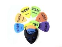 View Item 10 Guitar Picks with Plectrum Holder