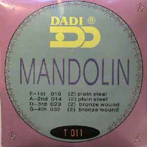 MANDOLIN STRINGS- bronze wound mandelin NEW