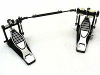 View Item The TDM Twin - heavy duty adjustable double bass pedal for drum kits