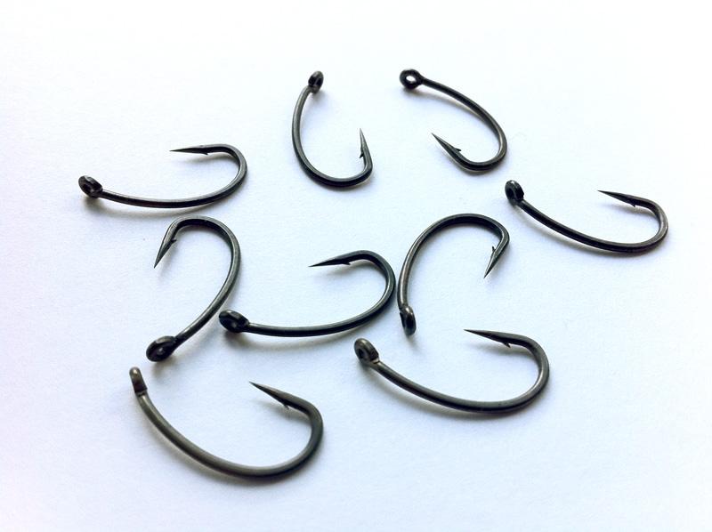 10 teflon carp fishing hooks size 6 micro barbed ebay for Micro fishing hooks