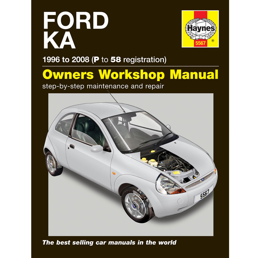 haynes manual ford ka   car workshop repair