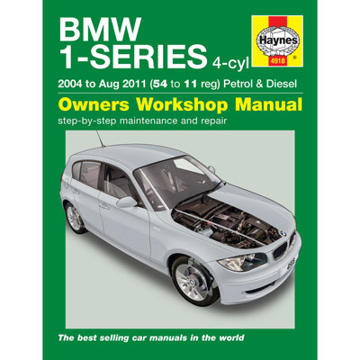 new haynes manual bmw 1 series 04 2011 car workshop repair. Black Bedroom Furniture Sets. Home Design Ideas