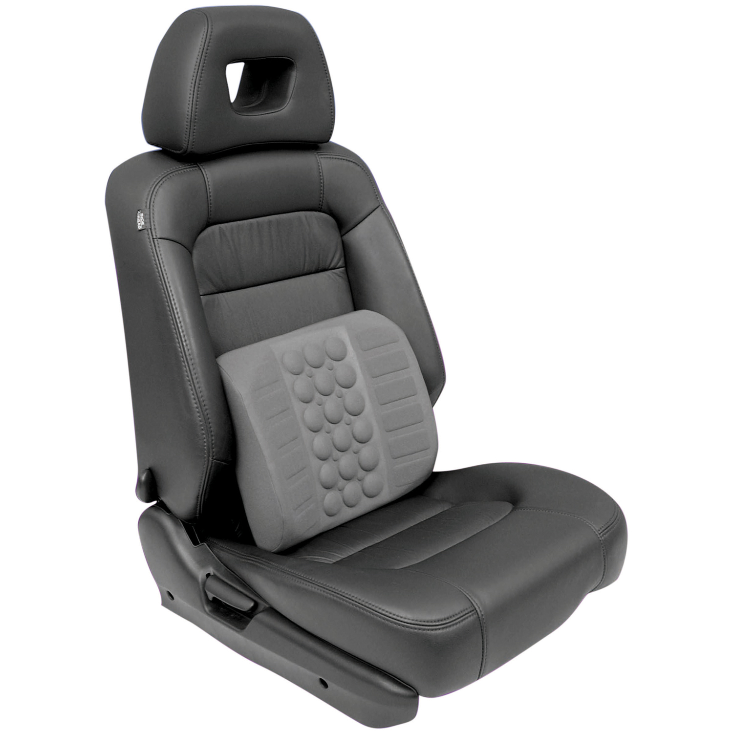 new car seat lumbar back support travel cushion comfort when driving. Black Bedroom Furniture Sets. Home Design Ideas