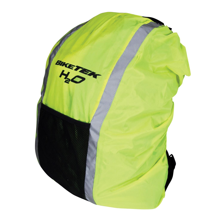 Bike It Waterproof Reflective Rucksack Bag Cover Rain Water Resistant Hi Vis Enlarged Preview