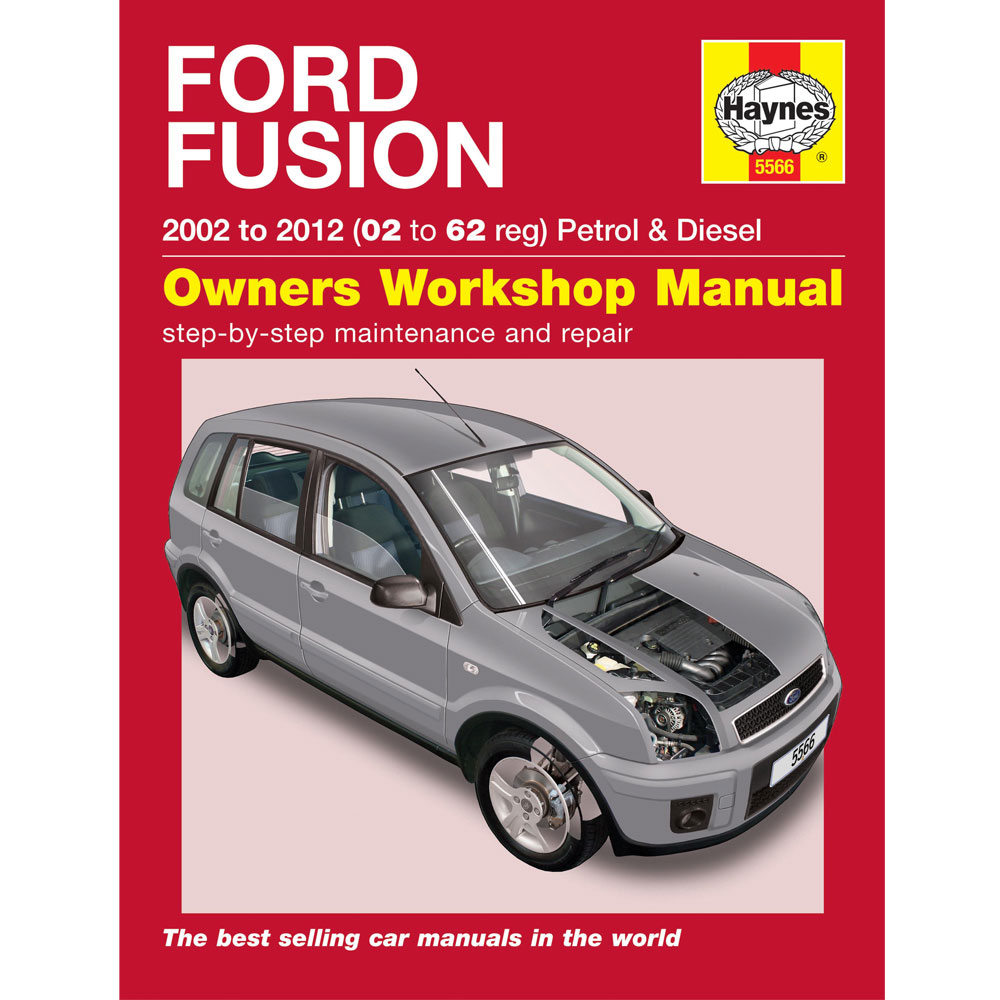 new haynes manual ford fusion 2002 2011 car workshop. Black Bedroom Furniture Sets. Home Design Ideas