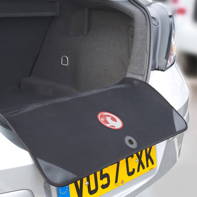 Richbrook Boot Lip & Bumper Protector Vauxhall Logo Enlarged Preview
