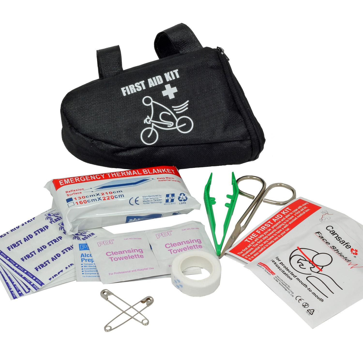 Bicycle Touring First Aid Kit