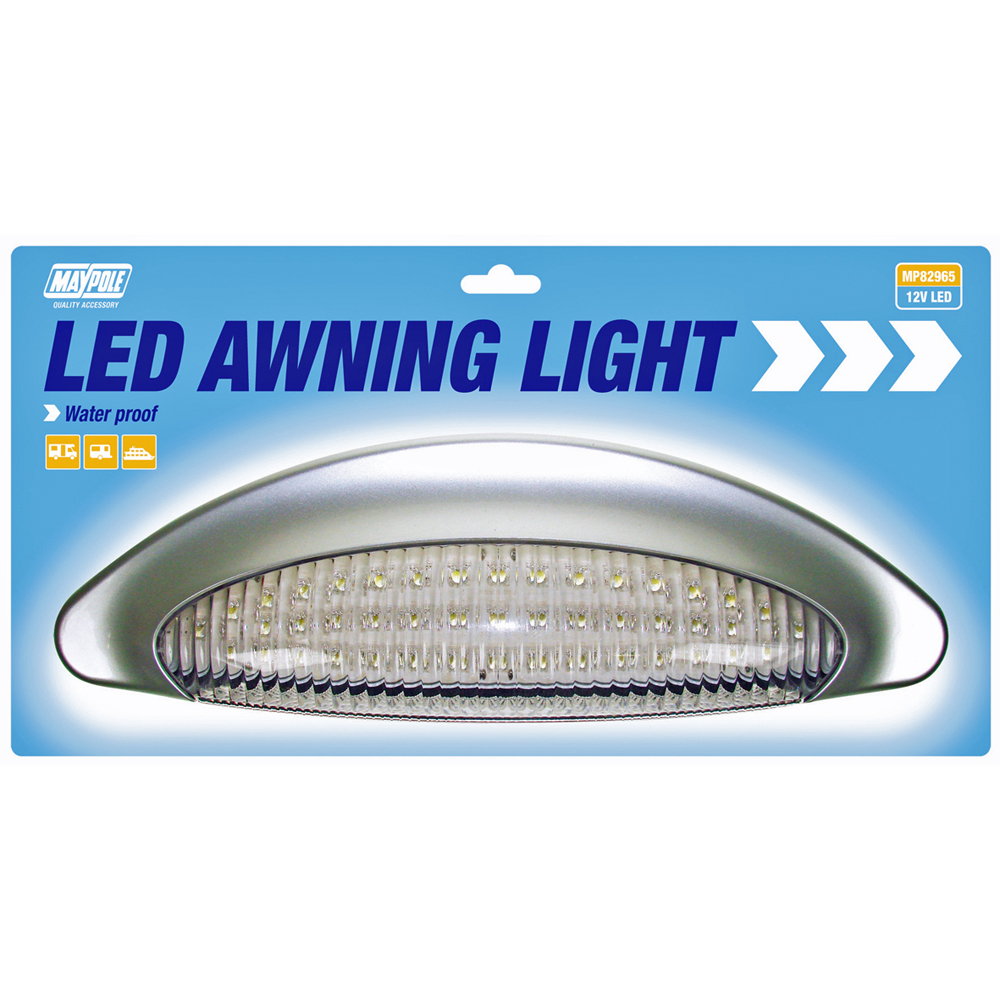 Maypole Caravan Awning Light Waterproof Led White 12v | eBay