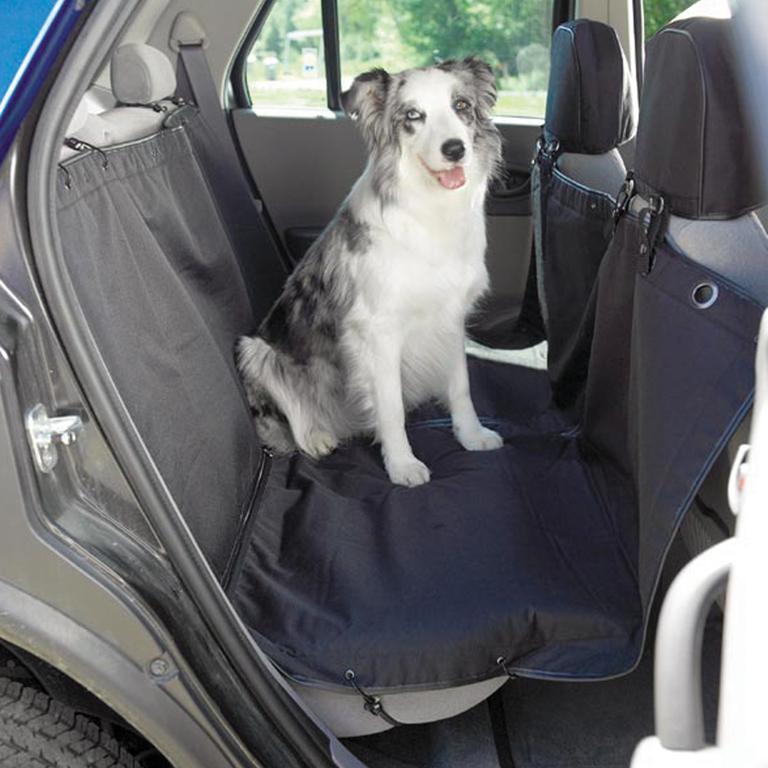 Heavy Duty Hammock Style Car Seat Cover For Dogs Pets