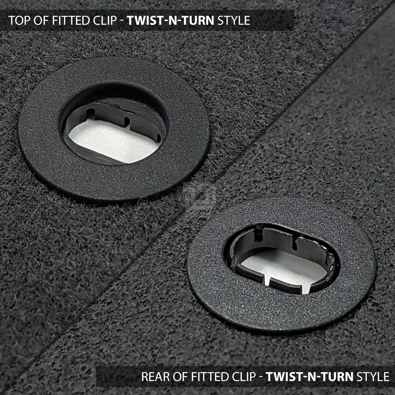 Bmw Z3 Floor Mats: BMW Z3 96-02 Set Of 2 Premier Black Tailored Fit Floor