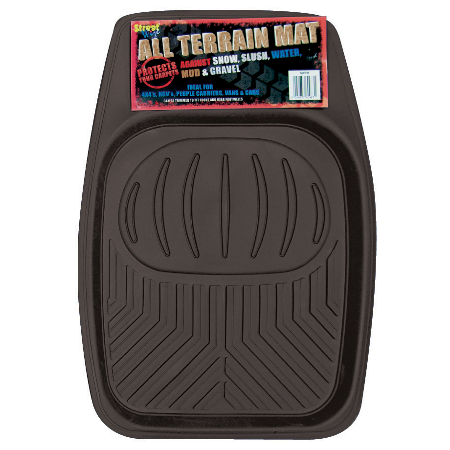 NEW HEAVY DUTY CAR VAN 4X4 LORRY FLOOR TRAY RUBBER MAT Enlarged Preview
