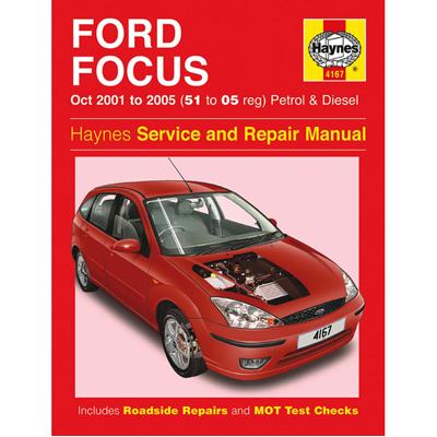 New Haynes Manual Ford Focus 01-05 Car Workshop Repair Book 4167 Enlarged Preview