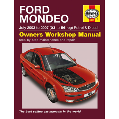 New Haynes Manual Ford Mondeo 03-07 Car Workshop Repair Book 4619 Enlarged Preview
