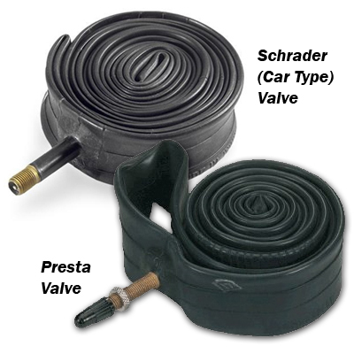 Bicycle Bike Inner Tube Schrader or Presta Valve