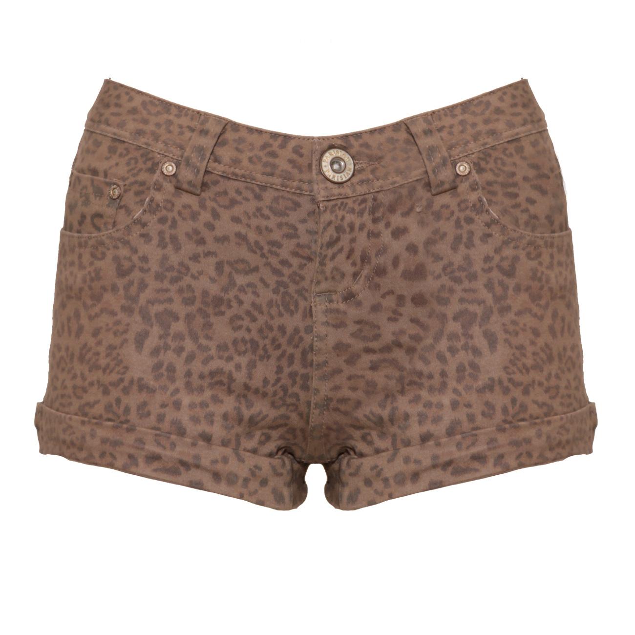 Leopard Shorts - Front