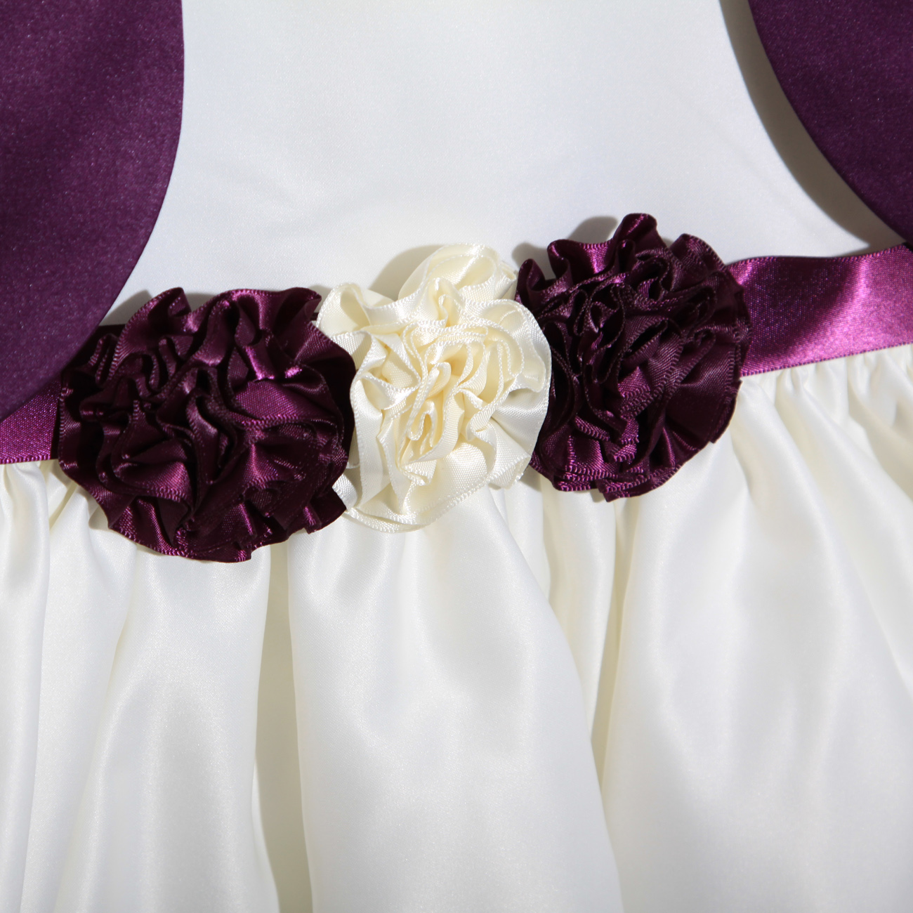Wedding dresses purple and cream for Cream and purple wedding dresses
