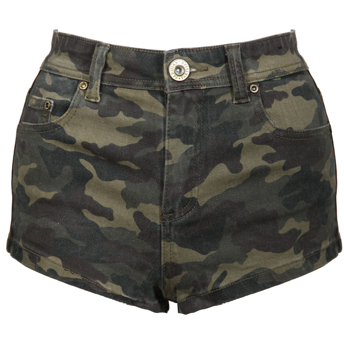 Camo Cargo Shorts. Create a casual and relaxed look, while still making a bold statement, by accenting a summertime wardrobe with a pair of camo cargo shorts. The flexible and relaxed design of cargo shorts allows the freedom to engage in favorite outdoor activities or lounge in the sun in comfort.