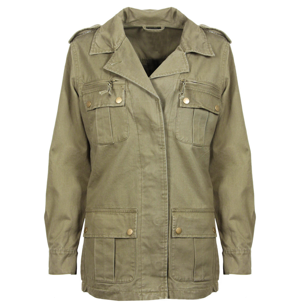 Find great deals on eBay for womens khaki military jacket. Shop with confidence.