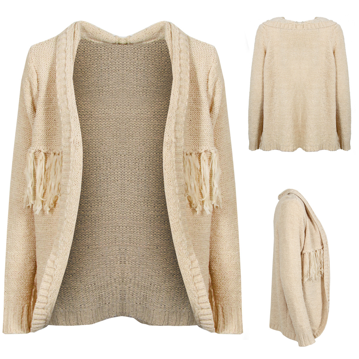 Free shipping and returns on Women's Beige Cashmere Cardigans at pimpfilmzcq.cf