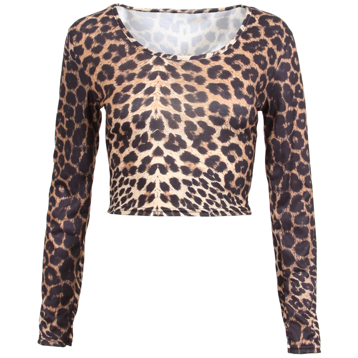 r5e-at red long sleeve leopard print pocket t-shirt top 2,2,2.