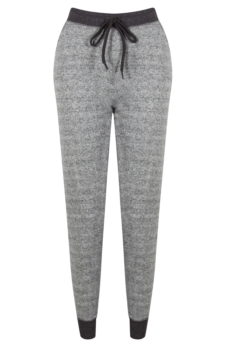 Amazing Coco Limon Heather Gray Drawstring Joggers  Women  Zulily