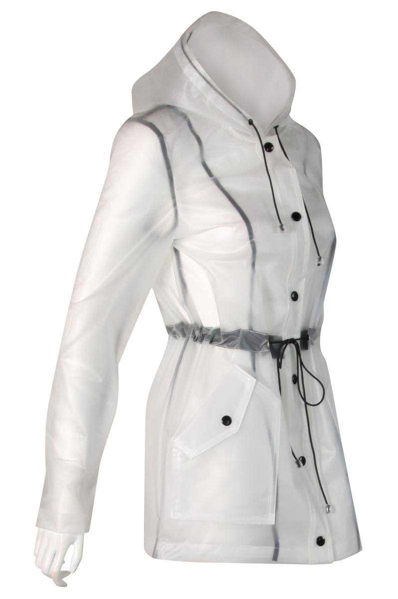 how to clean polyurethane rain jacket