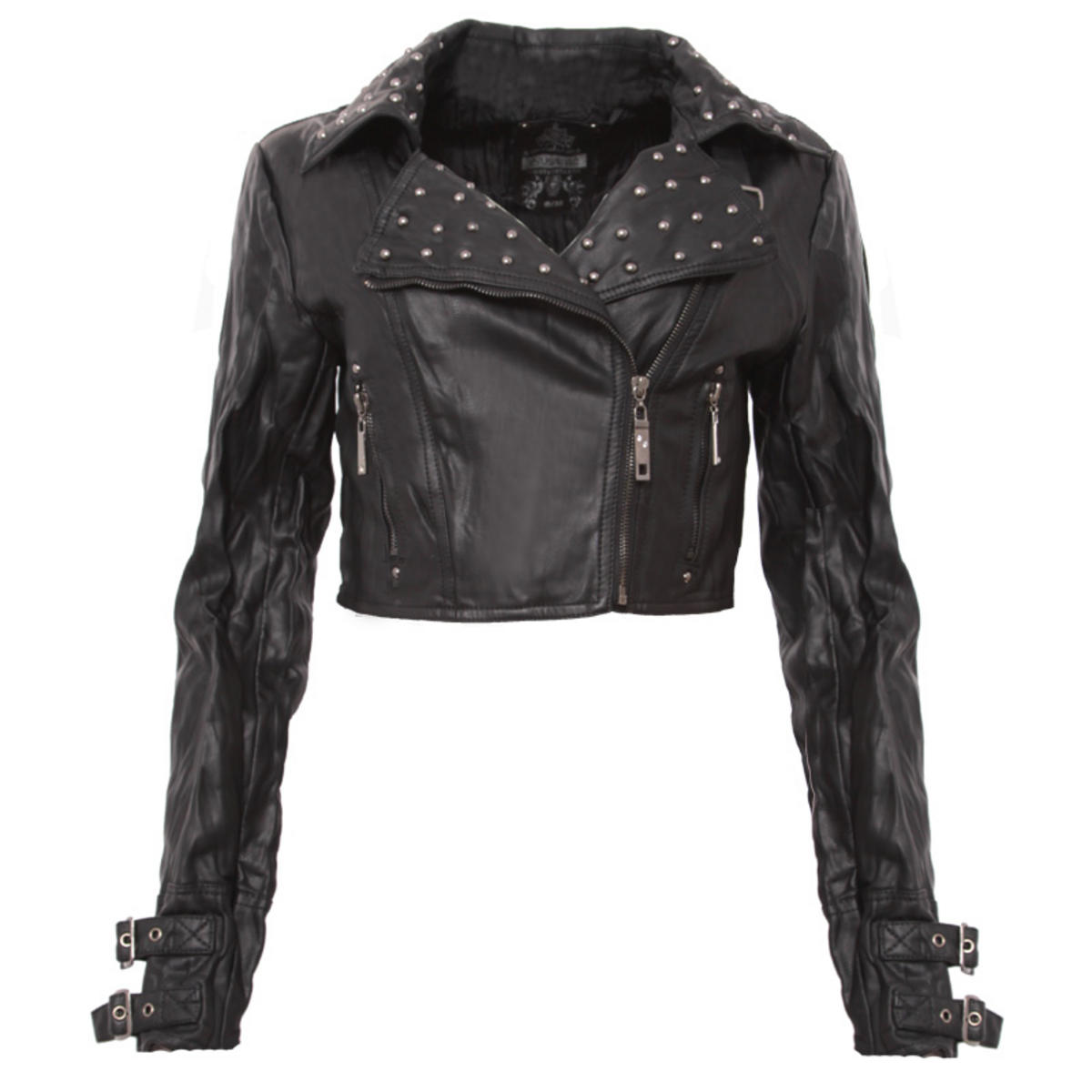 Asymmetric Studded Biker Preview