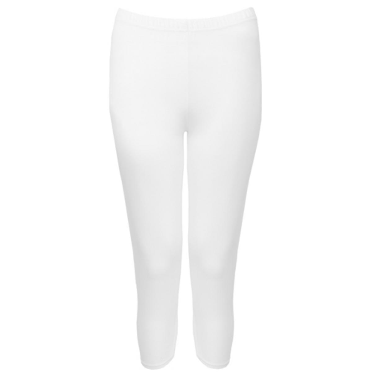 White Cropped Legging Preview