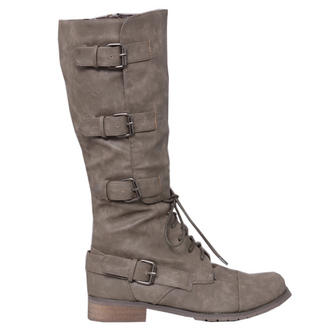 View Item Knee High Buckle Boot
