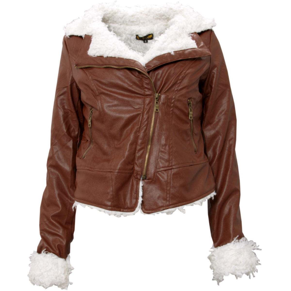 Faux Shearling Aviator Jacket Preview