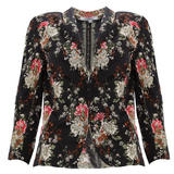 Lightweight Floral Blazer