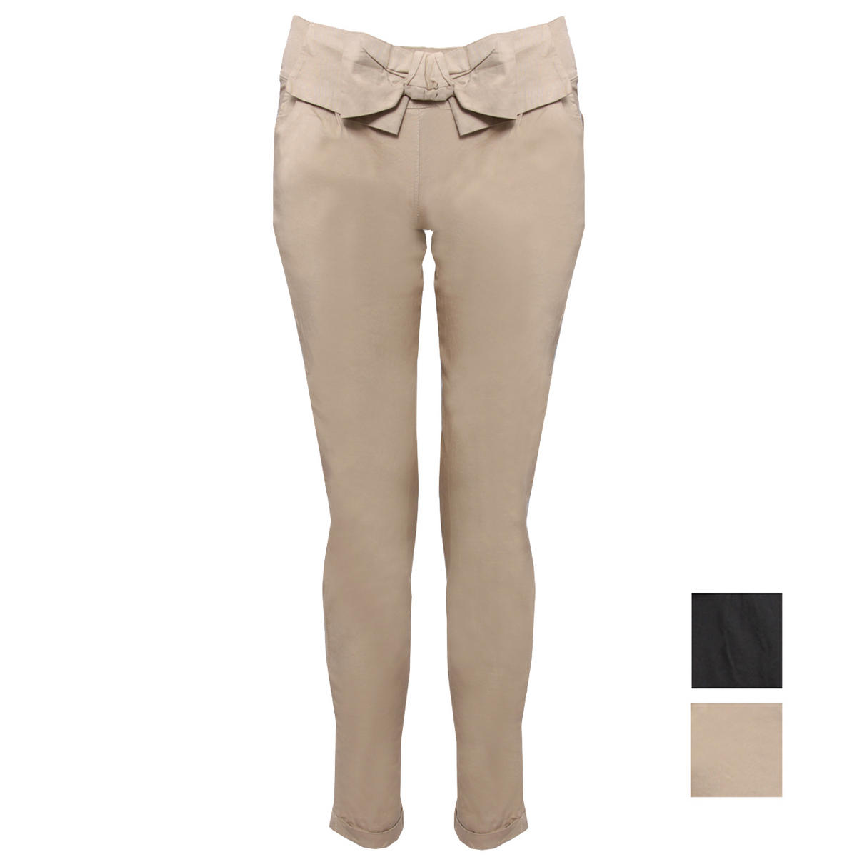 SIZE 14 ONLY Stretch Chino Bow Trouser Preview