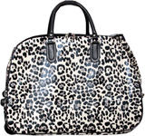 Leopard Print Luggage Bag