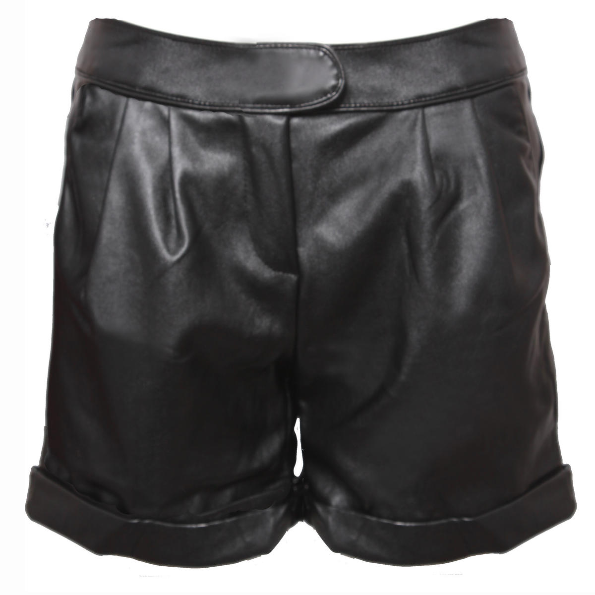 Pleather Turn Up Short Preview
