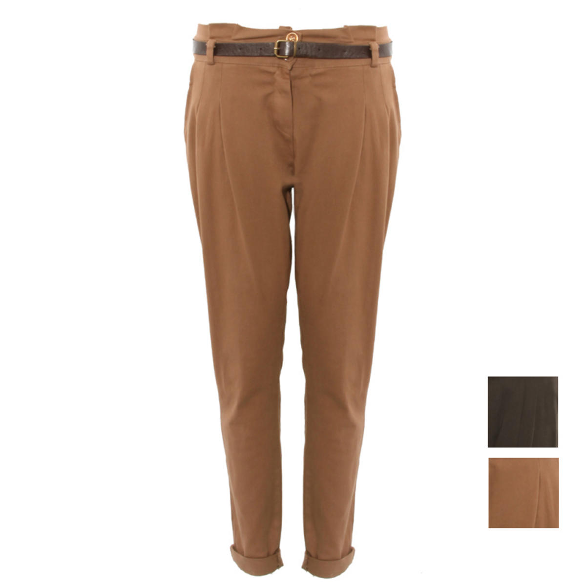 Belted Chino Trousers Preview