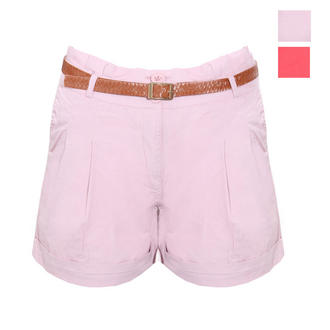 View Item SIZE 8 DUSTY PINK ONLY Turn Up Pleated Short